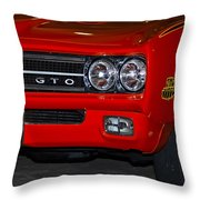 Here Comes The Judge Throw Pillow