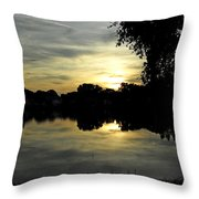 Here Comes The Night 2nd  Throw Pillow