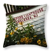 Hereford Lighthouse Lifeboat Throw Pillow