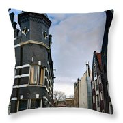 Herengracht 395. Amsterdam Throw Pillow