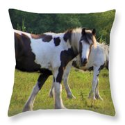 Here's Looking At Ya Throw Pillow