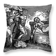 Heresy: Torture, C1550 Throw Pillow