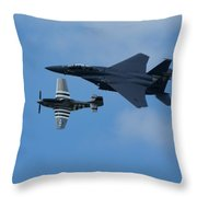 Heritage Flyby Throw Pillow