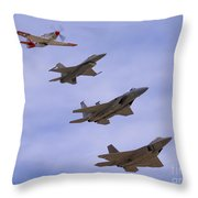 Heritage Stack Throw Pillow