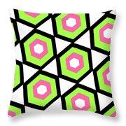 Hexagon Throw Pillow