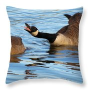Hey Look At Me Throw Pillow