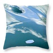 Hgr Hood Emblem Throw Pillow