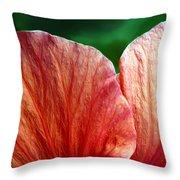 Hibiscus Fandango Throw Pillow