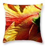 Hibiscus Fashion Throw Pillow