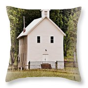 Hidden Church Throw Pillow