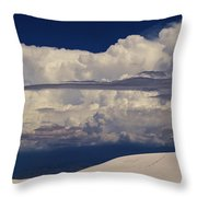 Hidden Mountains In The Shadows Of The Storm Throw Pillow