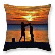 High 5 Throw Pillow