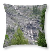 High Country Throw Pillow by Angie Vogel