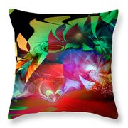 High Hopes Throw Pillow by Linda Sannuti