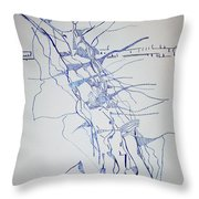 High Jump Throw Pillow