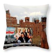 High Line Park 1 Throw Pillow