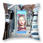High Line Print 29 Throw Pillow