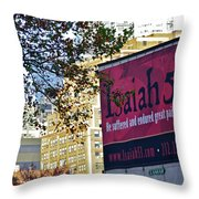High Line Print 32 Throw Pillow