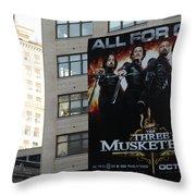 High Line Print 34 Throw Pillow