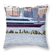 High Line Print 42 Throw Pillow