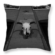 High Noon Saloon Throw Pillow