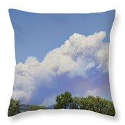 High Park Fire Larimer County Colorado  Throw Pillow by James BO  Insogna