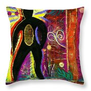 High Spirits Throw Pillow