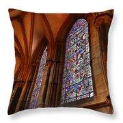 Higher Faith Throw Pillow