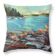 Highest Tide Rebecca Spit Throw Pillow