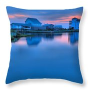 Highlights From The Sky Throw Pillow