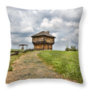 Hill Dweller Throw Pillow