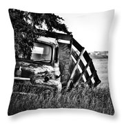Hill Top Tumble  Throw Pillow