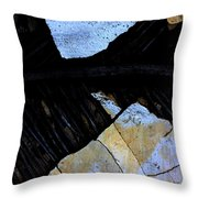 Hills With Stones Throw Pillow