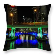 Hillsborough Crossing Throw Pillow