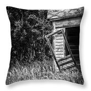 Hinged Hunger Throw Pillow