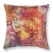 Hippies And The Sun Throw Pillow