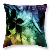 His Angels 3 Throw Pillow