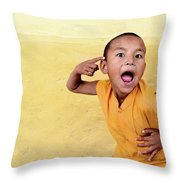 His True Colors Throw Pillow