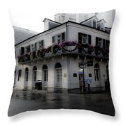 Historic French Quarter No 1 Throw Pillow