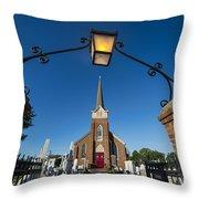 Historic St Peter's Episcopal Church Throw Pillow