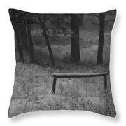 Hitching Post Throw Pillow