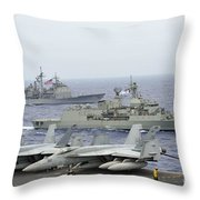 Hmas Ballarat Of The Royal Australian Throw Pillow
