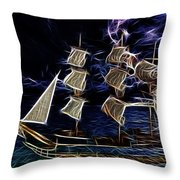 H.m.s. Bounty Throw Pillow