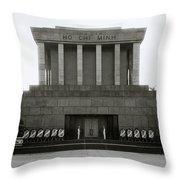 Ho Chi Minh Mausoleum Throw Pillow