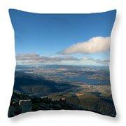 Hobart Tasmania Mount Wellington Throw Pillow