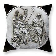 Hockey 1 Throw Pillow