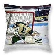 Hockey The Big Reach Throw Pillow