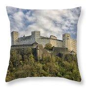 Hohensalzburg Castle Throw Pillow