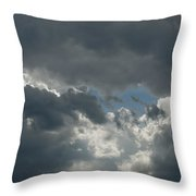 Hole In The Clouds Throw Pillow