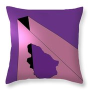 Hole In Wall Throw Pillow